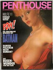 PENTHOUSE 10/1989    MARGARET BAX*   Oktober/1989