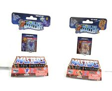 Worlds Smallest Masters of The Universe Micro Action Figures He-Man and Skeletor