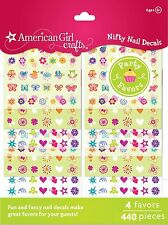 American Girl Crafts Nail Sticker Craft Favors , New, Free Shipping