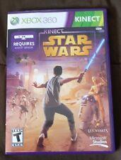 USED Kinect Star Wars (Microsoft Xbox 360, 2012) Motion Senor Action Arcade Game