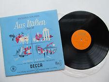 """Strauss Aus Italien 12"""" LP VPO Clemens Krauss Decca LXT 2917 UK 1954 1st 1A/2A"""