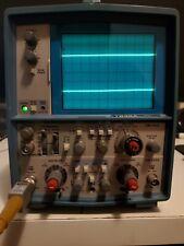 Vintage TEKTRONIX T935A 35MHz Oscilloscope with TEK P6108 Probe