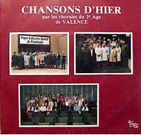 ++CHORALES DU 3E AGE DE VALENCE chansons d'hier SP 1983 DE PLEIN VENT EX++