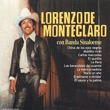 Con Banda Sinaloense by Lorenzo de Monteclaro (CD, Nov-2003, Sony Discos Inc.)