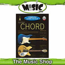 Progressive Complete Learn to Play Guitar Chords Manual - 208 Page Book + 2 CD's