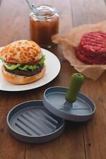 KITCHENCRAFT Metal Ham/Bean/Veggie/Fish Cake Quarter Pound Burger Press Kit -BBQ