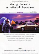 1998 Chevrolet Malibu - astronaut - Classic Vintage Advertisement Ad H57