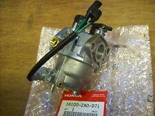 Honda EV4010 / EV6010 RV Generator Carburetor - New OEM PN 16100-ZA0-D71