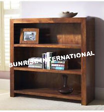 Shelves - Contemporary wood wooden Bookcase bookshelf rack (Small) !