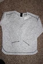 NWT Women's Banana Republic pullover sweatshirt space-dye sz XS