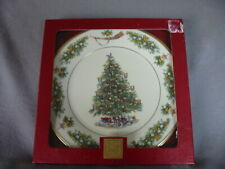 LENOX CHRISTMAS 2002 HOLIDAY COLLECTOR PLATE TREES AROUND THE WORLD NETHERLANDS