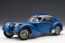 1:18 Autoart #70943-Bugatti 57 Sc Atlantic 1936 (Azul / Metal Cable Habló