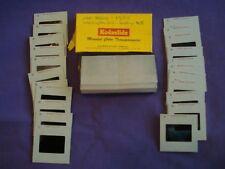Box of Kodak Kodachrome Slides 1955 Washington DC Airplane Views from Plane 21