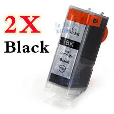 2x Ink Cartridge PGI-5BK only for Canon PIXMA iP3300 iP3500 MP510 MX700 Printer