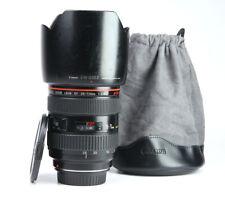 Canon EF 28-70mm F2.8 L USM AF Pro Zoom Lens + Front & Rear Caps + Hood
