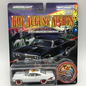Greenlight 2006 HAN Reno 1967 Chevy Impala Die Cast Car Signed