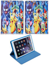 Per Apple iPad 2 3 4 vai grande POKEMON Pikachu Bambini Divertente Cartoon STAND CASE COVER