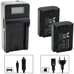 2x SK Akku für Sony NP-FZ100 + Speed Charger A9 A9S A7RM3 A7 III 65233-0111-0364