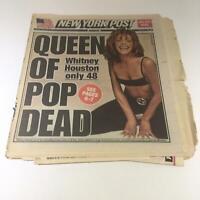 New York Post: Feb 12 2012, Queen of Pop Dead