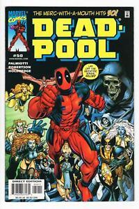 DEADPOOL Vol. 2, #50 1st Kid Deadpool ART ADAMS Robertson 2001 VF/NM high grade