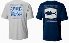 Mens Columbia Pfg Terminal Tackle Fish Omni-Shade S/S T-Shirt - Xl & Large - Nwt