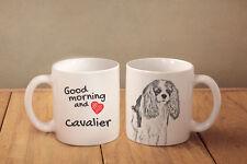 "Cavalier King Charles Spaniel - ein Becher ""Good Morning and love"" Subli Dog, CH"