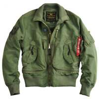 Alpha Industries Alpha Prop Flight Jacket - Small, Black