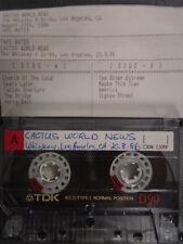 Cactus World News Whiskey Los Angeles 1986 Live FM Radio Station Master Tape