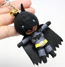 BATMAN Keychain Key Ring Voodoo Doll Bag String Handmade Handcraft Superhero New