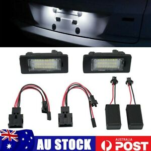 For Audi A1 A7 A6 C7 2011-2018 License Number Plate 24 LED Light White 12V Kit