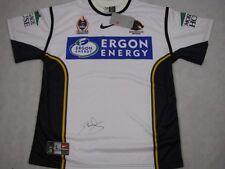 DARREN LOCKYER  Hand Signed Brisbane Broncos Jersey