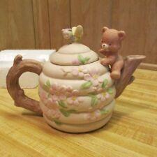 Enesco Honey Bear porcelain teapot
