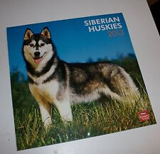 Siberian Huskies Wall Calendar 2013 Husky Dogs Vintage
