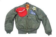 1967 Lot L-2B flight jacket ball cap patches Vietnam war uniform crash rescue