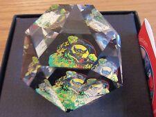 Molto RARO Arribas WALT DISNEY WORLD Chernabog Swarovski Crystal fermacarte