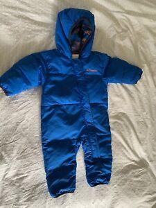 columbia snowsuit 6-12m