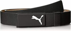 """Puma All In One 100% Leather Cut To Length Golf Belt - RRP£45 - Black Up to 40"""""""