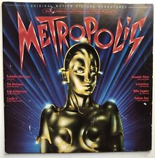 Metropolis - Soundtrack LP - Freddy Mercury - Columbia 1984 - Tested Strong VG