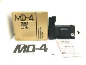 【 Top Mint IN Scatola 】 Nikon Guida Motore MD-4+AH-3+MR-3 Per F3 Da Japan #716