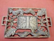 Vassoio in legno del '900 cm 16x26 Antikidea