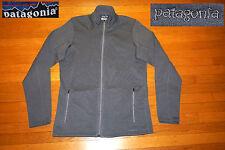 Patagonia Polartec Stretch Tech Full Zip Grey Jacket Warm Up Ec medium men