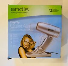 EasyClip Andis Quiet Aire Dryer, Professional Animal Grooming, QD-1 (75310)
