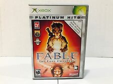 Fable: The Lost Chapters Microsoft Xbox Platinum Hits