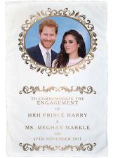 HRH Prince Harry & Ms Meghan Markle Engagement MicroFibre Tea Towel