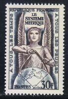 France 1954 MNH Mi 1024 Sc 732 Allegory.Metric system **