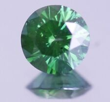Fancy GREEN Natural Diamond Loose ROUND 0.90 Ct Cheap Certified ACTUAL IMAGE