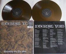 LP INTERNAL VOID Standing On The Sun (2LP) (Re) GOLD VINYL Svart Records SVR219