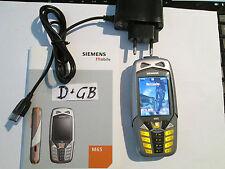 Siemens  C 65 grau / schwarz Simfrei Heft + Ladeteil  super ok gebr Art Nr. 9 E