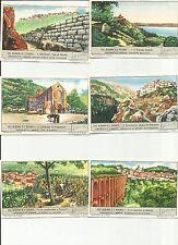 ITALY Liebig trading cards  S1509 F 1508 GLI ALBANI E I VOLSCI