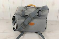 Vintage Coastar Large Gray Camera Bag Photography Luggage Travel Shoulder Strap